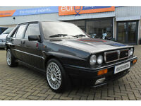 LANCIA DELTA HF TURBO IE INTEGRALE (black) 1991
