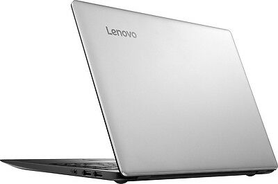 "NEW Lenovo Ideapad 100s 14"" Laptop Intel 2GB RAM 64GB eMMC SSD Silver w/ Office"