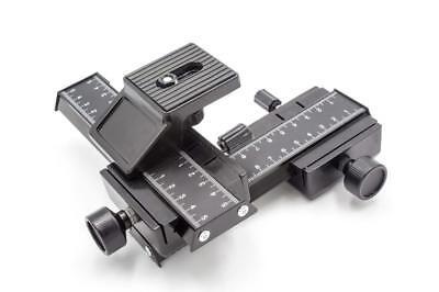 Kreuz Makroschlitten 4-Wege, 3D Einstellschlitten