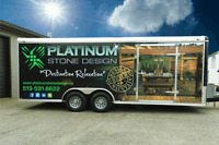 Commercial Vehicle Lettering / Wraps - Starting as low as $200