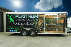 Commercial Vehicle Lettering / Wraps - Starting as low as $200 Kitchener / Waterloo Kitchener Area image 1