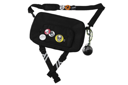 Game Watch Dogs 2 Shoulder Cross Body Bag Marcus Holloway Dedsec Badges Prop Toy
