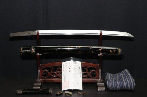 (AY-32) Beautiful Silver Koshirae with WAKIZASHI Blade Edo