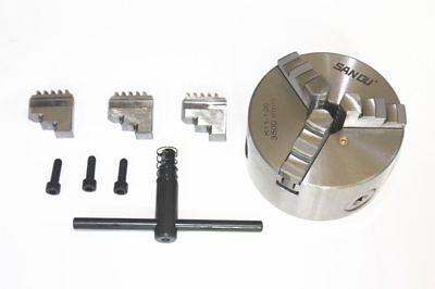 San Ou K11 100 3-jaw Lathe Chuck Manual Self-centering Metal K11-100 Lathe Chuck