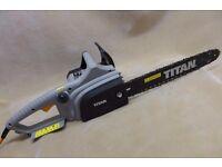 BRAND NEW Electric Chainsaw Titan 40.5CM 2000W , 230V