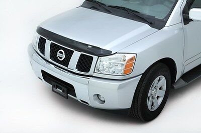 (Bugflector II Bug Deflector Hood Shield For 04-14 Nissan Titan Armada AVS 25402)
