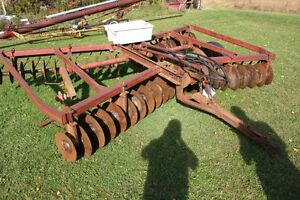 pull type disc harrows 44-plate