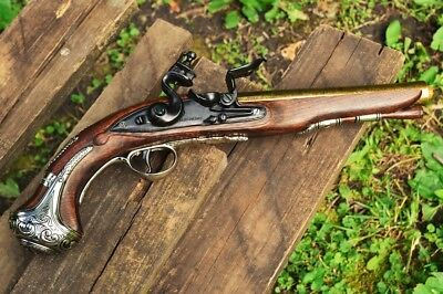 George Washington 1748 Flintlock Pistol - Colonial Revolutionary - Denix Replica