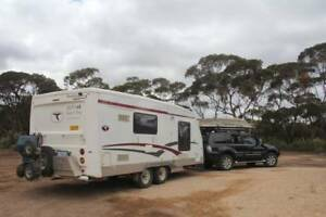 Trailcraft 6.4M Dirt Road Caravan with everything