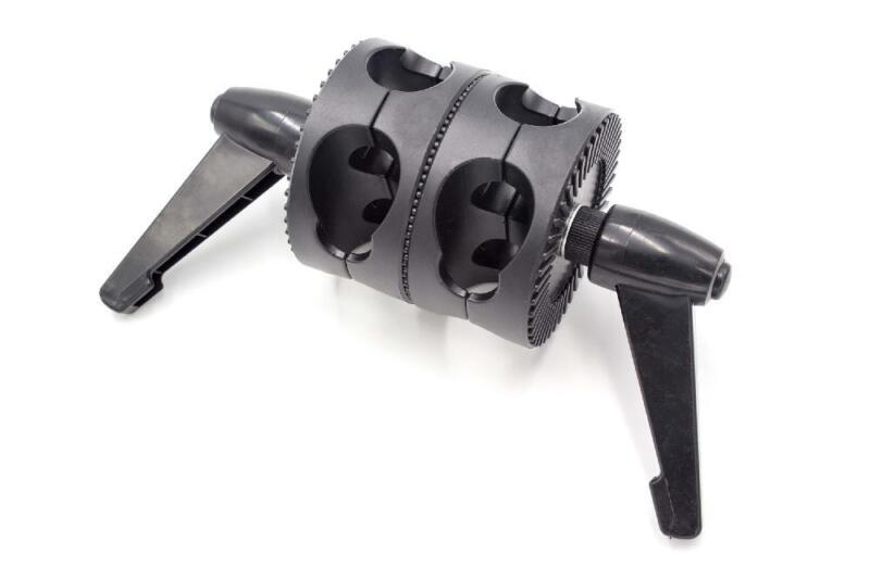 Reflector+holder+%2F+Double+jointed+head+with+clamp+for+Photo+Studio