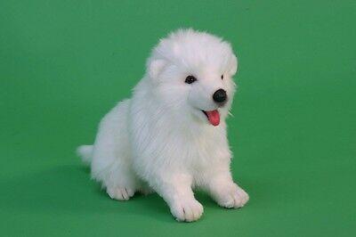 Hansa Toys Samoyed Puppy Dog 5267 Plush Stuffed Animal Toy Decor Prop Gift New