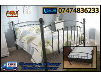 stylish metal bed for sale