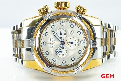 Invicta 14069 Reserve 52mm Bolt Zeus Chronograph Gold Plated Watch