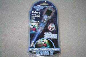 BRAND NEW Mini Scooter GT Arcade Pen Games