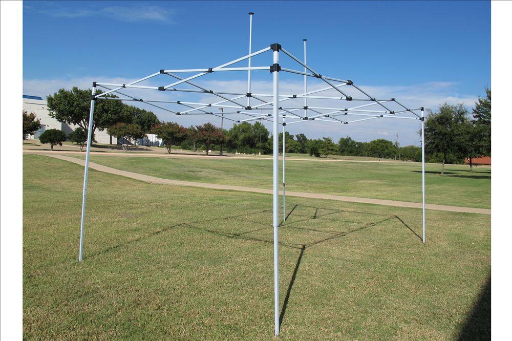 10 X 15 Pop Up Canopy Party Tent Gazebo Ez Blue E