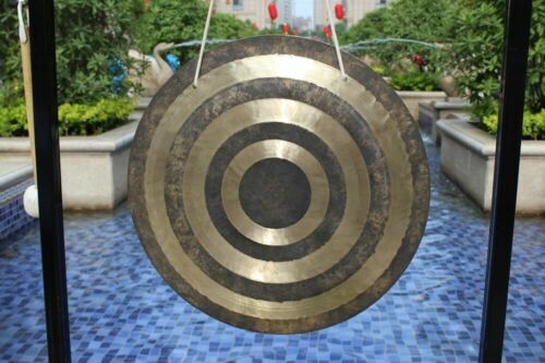 "30"" Sun wind gong/ feng gong with mallet come from MK gong power"