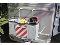Fiamma Cargo Back Soft Luggage Box with internal frame