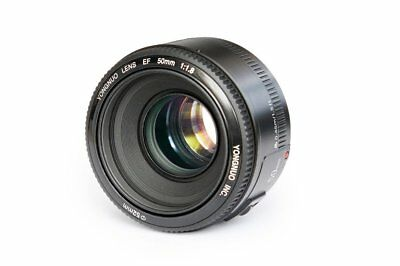 50mm F1.8 Lens Large Aperture Auto Focus Lens For Canon EF Mount EOS Camera UK