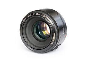 50mm F1.8 Lens Large Aperture Auto Focus Lens For Canon EF Mount EOS Camera UK