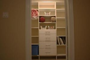 Get Quality Custom Closets and Storage Solutions for $395 Kitchener / Waterloo Kitchener Area image 1