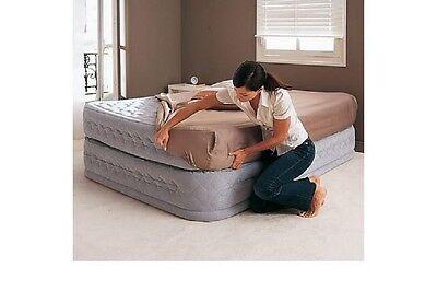 Cama hinchable colchón hinchable,INTEX 66962 con bomba eléctrica, 152 x 203 x...