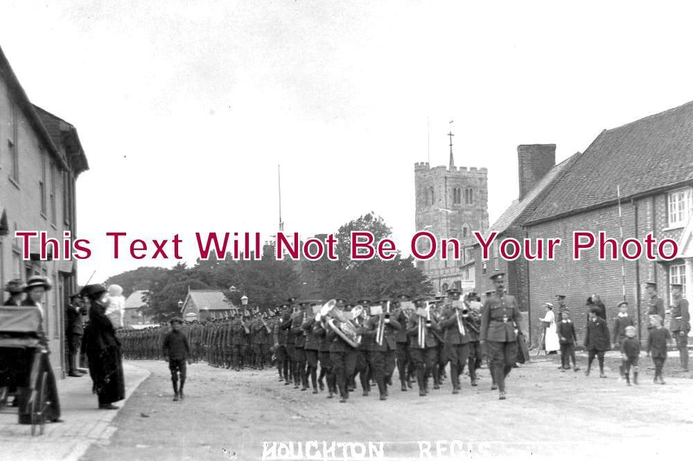 BF 603 - Military Band, Houghton Regis, Bedfordshire