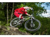 Trail-ready Mountain Bike, 120+mm forks, HT or HS, 29er or 27.5cm