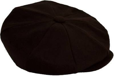 Over Size 8 Panel Newsboy Applejack Cabbie Cap Hat