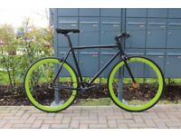 Brand new TEMAN single speed fixed gear fixie bike/ road bike/ bicycles + 1year warranty qt8