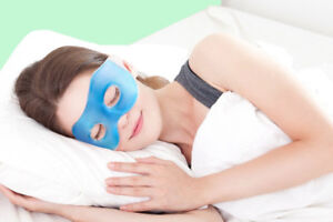 GEL EYE MASK Hot Cold Cooling Soothing Relief Tired Eyes & Headache Relaxing Pad