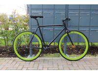 Brand new TEMAN single speed fixed gear fixie bike/ road bike/ bicycles + 1year warranty ww8