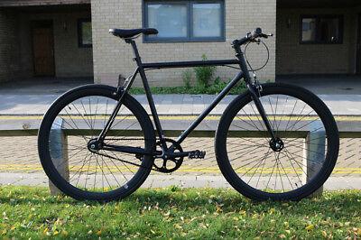 TEMAN Brand new Single Speed Fixed Gear fixie Road Bike Freewheel bicycles V9
