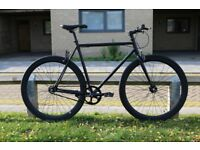 Brand new TEMAN single speed fixed gear fixie bike/ road bike/ bicycles + 1year warranty qt00