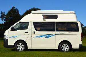 Toyota Hiace High Top Automatic Campervan with Roof Bed & Low Km Albion Park Rail Shellharbour Area Preview