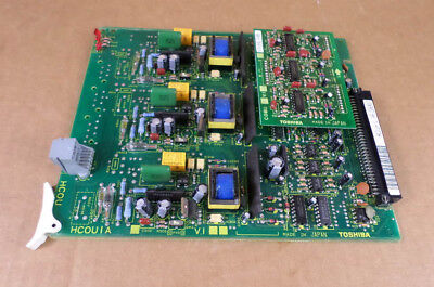 Toshiba HCOUIA V.1 Telephone System PC Board