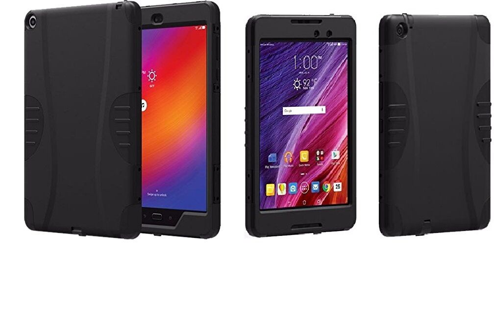 Verizon Rugged Protective Shell Case Cover For Asus Zenpa...
