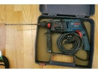 Bosch sds three mode hammer drill 240v