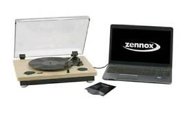 Zennox record player with USB plug in - perfect condition