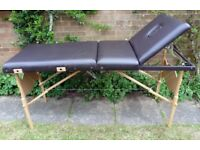 PORTABLE MASSAGE COUCH / THERAPY TABLE