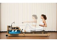 Rowing Machine - BRAND NEW! wooden with Ipad holder- Fold upright easy