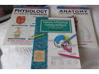 Anatomy & Physiology Coloring Workbooks