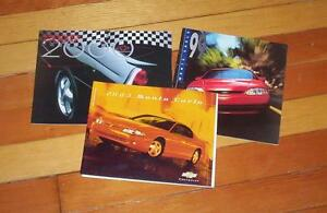 1999 2000 2003 GM Chevrolet Monte Carlo new car brochures