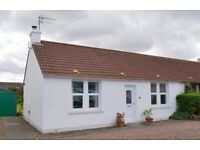 Unfurnished 2 bedroom semi detached bungalow to rent in Gullane, East Lothian