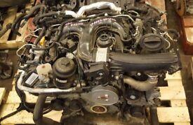 2011 AUDI A8 D4 3.0TDI CDT CDTA ENGINE COMPLETE GOOD RUNNER 78000 MILES #7052