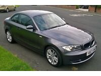 BMW 1 Series 120D SE 2 door coupe. 2008-57 plate, 70k, M.O.T. Jan '18.