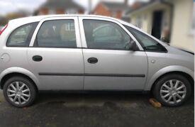 Vauxhall Meriva City 1.6 8v 2004