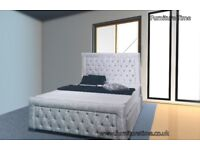 Comfy Straight Bed with Mattress+box+delivery