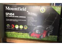 Brand New Mountfield Petrol Lawnmower SP454