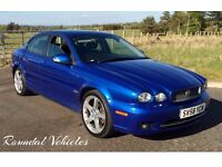 2008 JAGUAR X-Type xtype 2.0 diesel SPORT 112k hist BEAUTIFUL CAR STUNNING COLOUR Long mot!