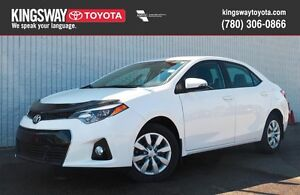 2016 Toyota Corolla Sport Upgrade Package